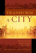 Transform a City, to eBook