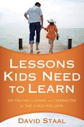 Lessons Kids Need to Learn eBook