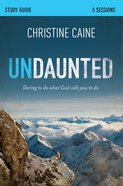 Undaunted (Participant's Guide) eBook