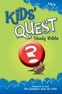 NIRV Kids' Quest Study Bible (2005) eBook