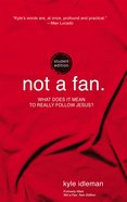 Not a Fan Student Edition eBook