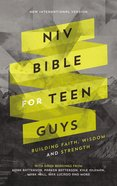 NIV Bible For Teen Guys eBook