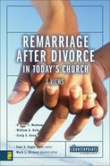 Remarriage After Divorce in Today's Church (3 Views) (Counterpoints Series) eBook