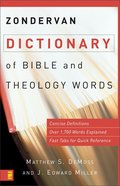 Zondervan Dictionary of Bible and Theology Words eBook