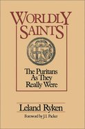 Worldly Saints eBook