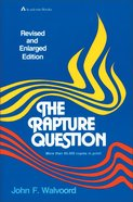 Rapture Question the