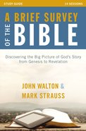 A Brief Survey of the Bible Study Guide eBook