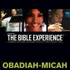 Inspired By?The Bible Experience: Obadiah - Micah, Audio eAudio