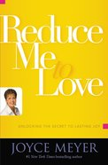 Reduce Me to Love eBook