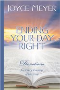 Ending Your Day Right eBook