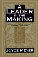 A Leader in the Making eBook