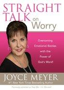 Straight Talk on Worry eBook
