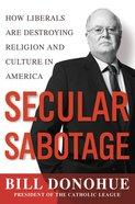 Secular Sabotage eBook