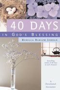 40 Days in God's Blessing eBook
