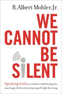 We Cannot Be Silent eBook