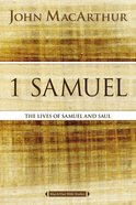1 Samuel (Macarthur Bible Study Series) eBook