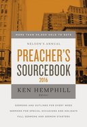 Nelson's Annual Preacher's Sourcebook 2016 eBook