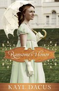 Ransome's Honor (#01 in The Ransome Trilogy Series) eBook