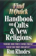 Find It Quick: Handbook on Cults and New Religions eBook