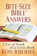 Bite-Size Bible Answers eBook