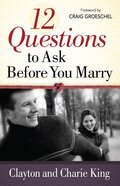 12 Questions to Ask Before You Marry eBook