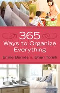 365 Ways to Organize Everything eBook
