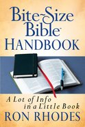 Bite-Size Bible Handbook eBook