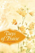 Days of Praise For Women eBook
