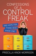 Confessions of a Control Freak eBook