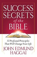 Success Secrets of the Bible eBook