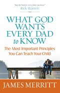 What God Wants Every Dad to Know eBook