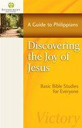 Discovering the Joy of Jesus (Stonecroft Bible Studies Series) eBook
