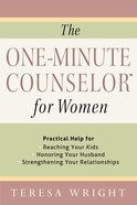 The One-Minute Counselor? For Women eBook