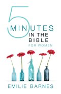 Five Minutes in the Bible For Women eBook