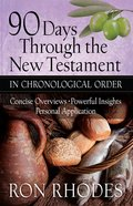 90 Days Through the New Testament in Chronological Order eBook