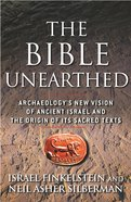 The Bible Unearthed eBook