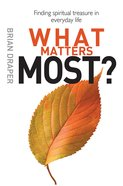What Matters Most? eBook