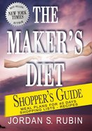 The Maker's Diet Shopper's Guide eBook