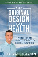The Original Design For Health eBook