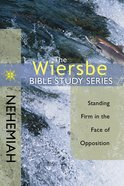 Nehemiah (Wiersbe Bible Study Series) eBook