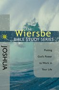 Wiersbe Study Series: Joshua eBook