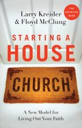 Starting a House Church Paperback