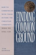 Finding Common Ground eBook