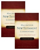 1 & 2 Corinthians (Set) (Macarthur New Testament Commentary Series)