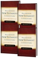 Matthew (4 Volume Set) (Macarthur New Testament Commentary Series)