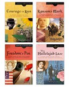 Ransom's Mark/Hallelujah Lass/Courage to Run/Freedom's Pen (Daughters Of The Faith Series) eBook