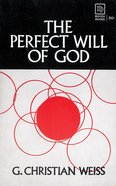 Perfect Will of God eBook