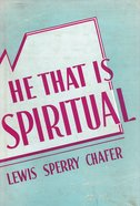 He That is Spiritual eBook