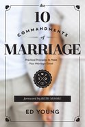 The 10 Commandments of Marriage eBook