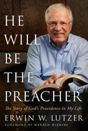 He Will Be the Preacher eBook